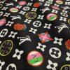 French Design Silk Satin Fabric
