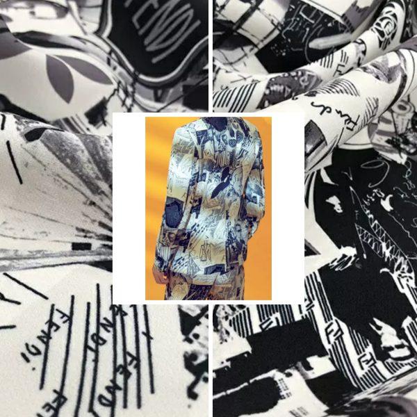 Fendi Fabric Silk