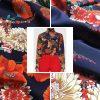 Gucci Silk Fabric