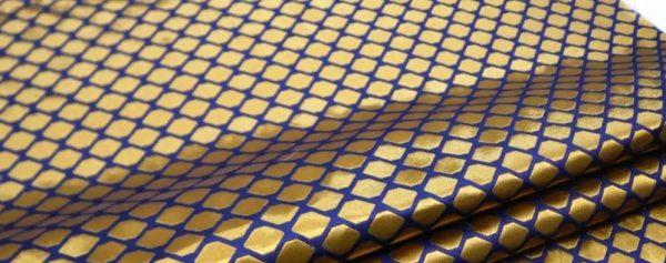 20210103 022436 Fendi Brocade fabric for evening dress,overcoat/Fendi limited edition Gold yarn fabric 2