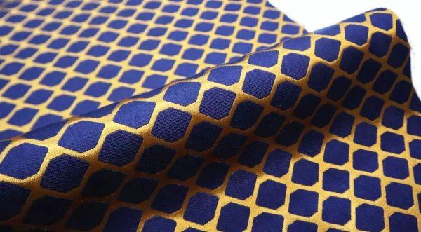 20210103 022603 Fendi Brocade fabric for evening dress,overcoat/Fendi limited edition Gold yarn fabric 1
