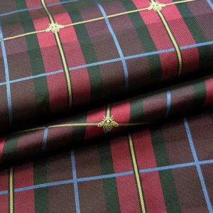 Gucci Scottish plaid fabric