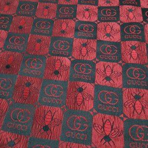 Gucci jacquard bee design fabric #2/2021 Gucci fabric for clothing/Fashion week fabric