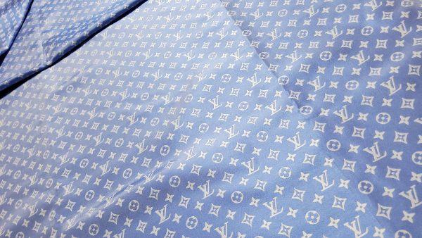 Louis Vuitton Cotton Jacquard denim blue