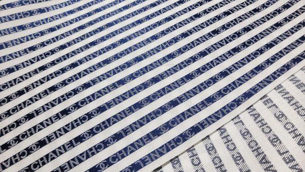 French Designer CC cotton jacquard fabric