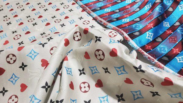 20210306 204534 scaled French Designer Monogram Cotton Linen Jacquard/2021 Fashion week suit,jacket,skirt,dress Fabric 3