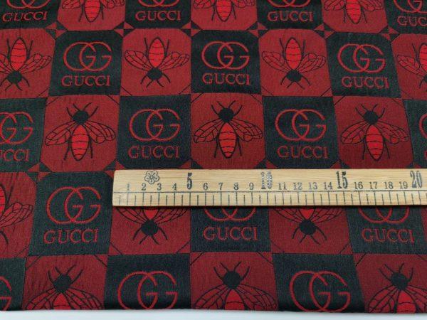 Gucci jacquard bee design