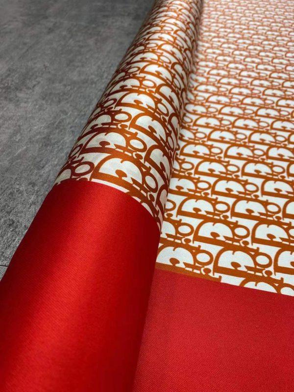 Dior Silk Twill Fabric