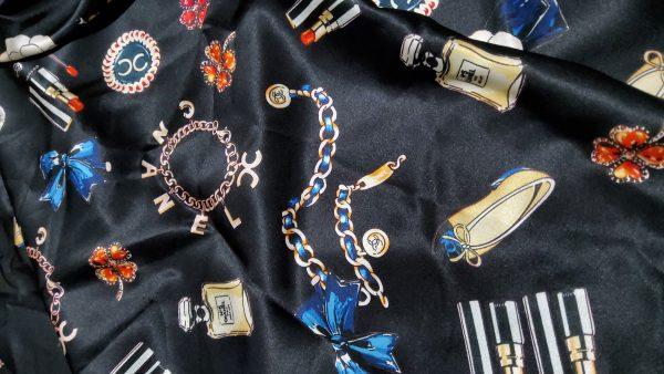 Chanel Silk Fabric