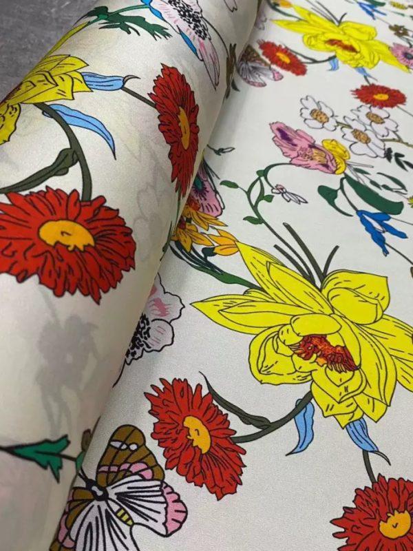 Gucci fabric silk