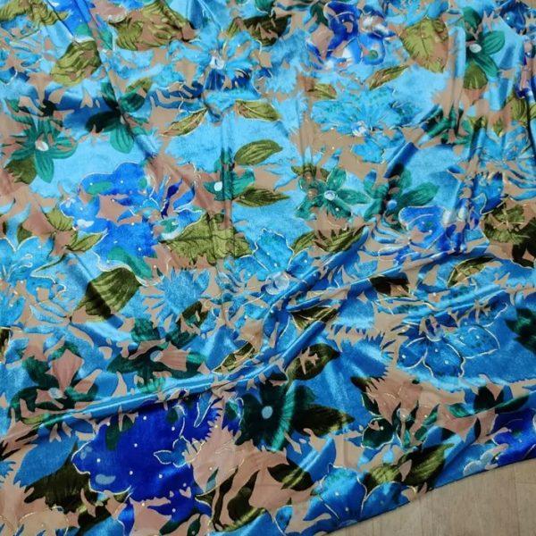 Emanuel Ungaro Velvet Silk Fabric