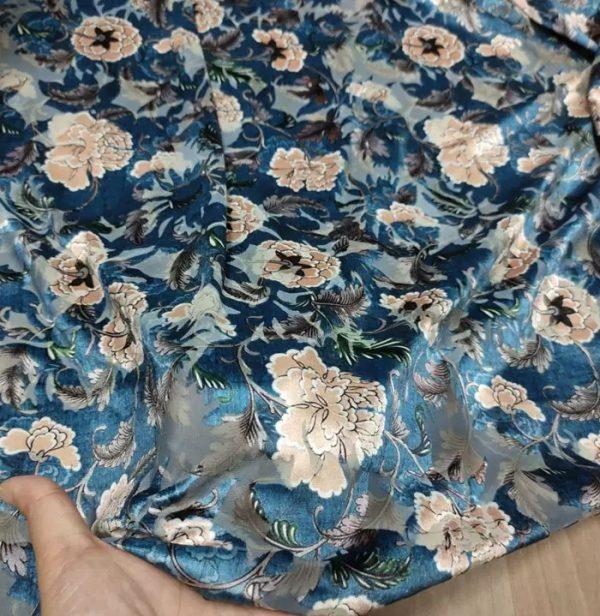 Emanuel Ungaro Silk velvet Devore