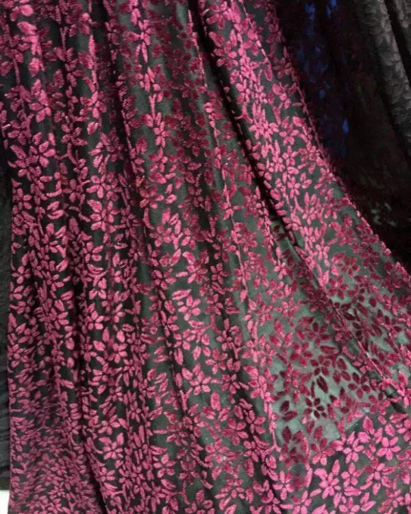 Emanuel Ungaro Fabric Velvet
