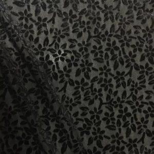 Emanuel Ungaro Fabric Velvet burn out silk fabric/New collection Devore velvet fabric/Colour #2