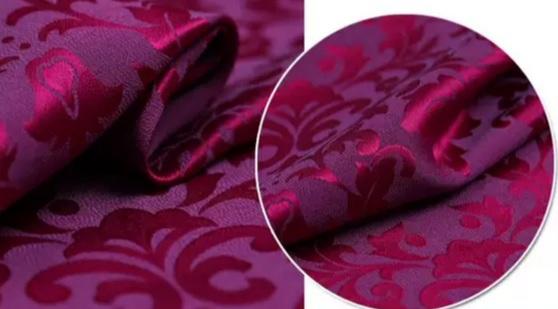 Versace silk jacquard fabric