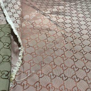 Gucci fabric Bologna Cotton polyester in various colours/Colour #5 Brick