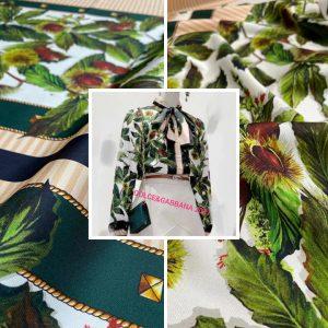 Italian Fashion Week Silk Fabric
