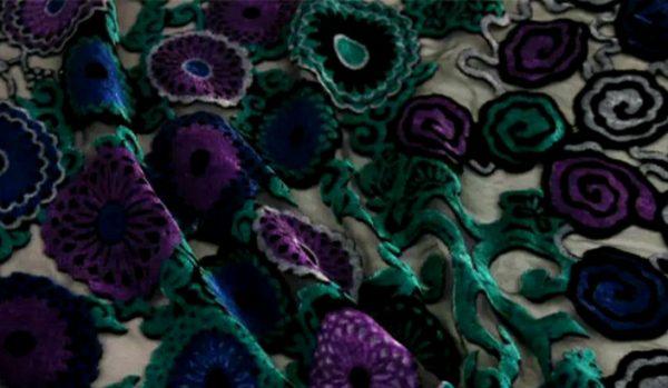 Emanuel Ungaro Devore silk