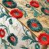 Oscar De La Renta fabric mesh silk