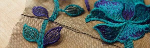 Alberta Ferretti fabric mesh
