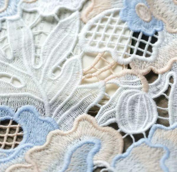 Alberta Ferreti fabric Broderie anglaise