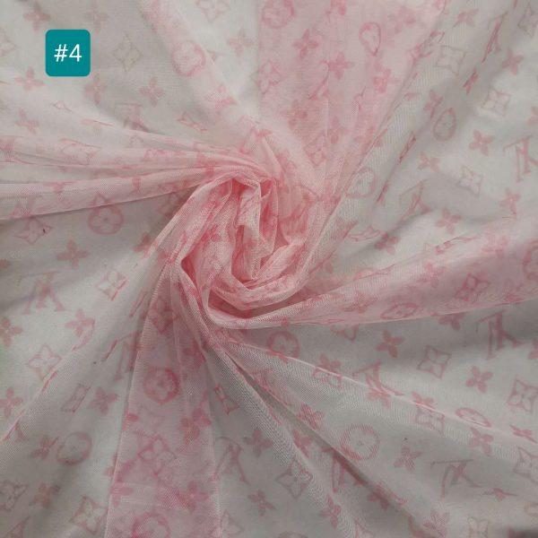 French Designer Mesh net fabric