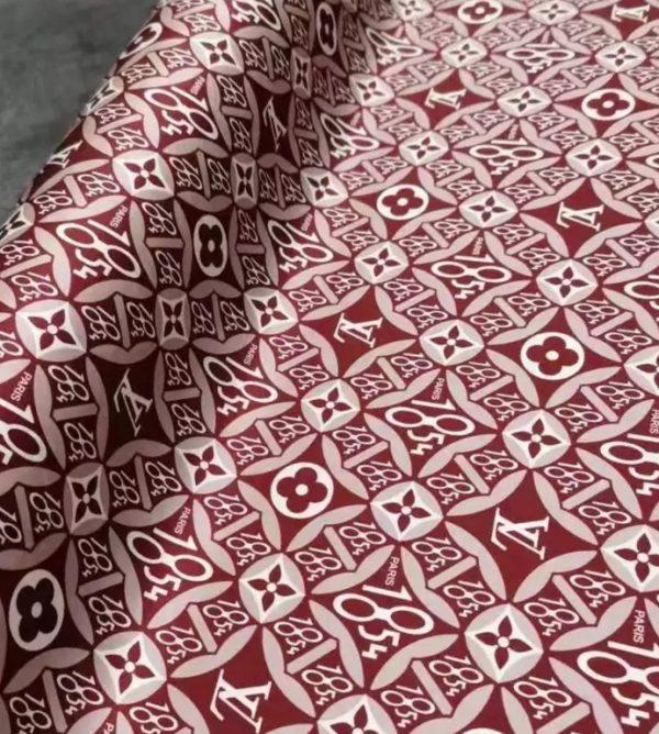 LV fabric Haute Couture Silk