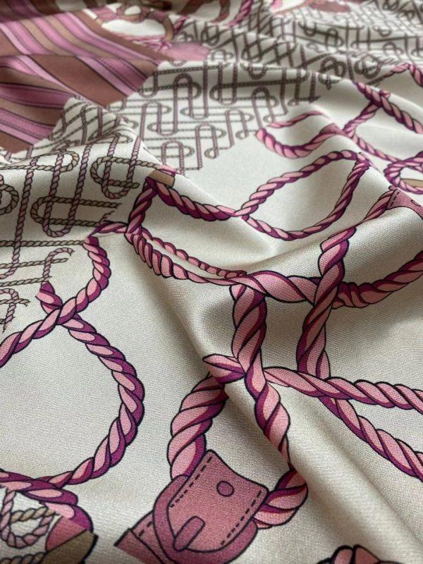 Gucci silk twill fabric,