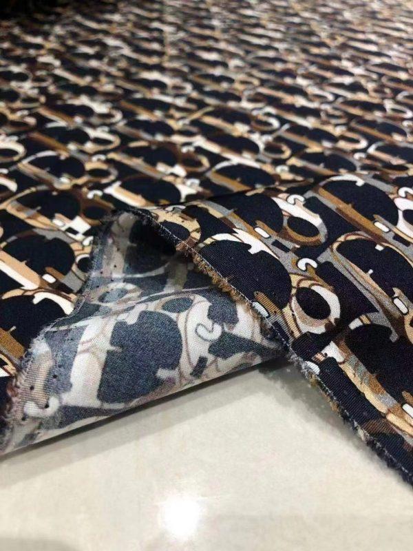 Dior fabric Silk twill