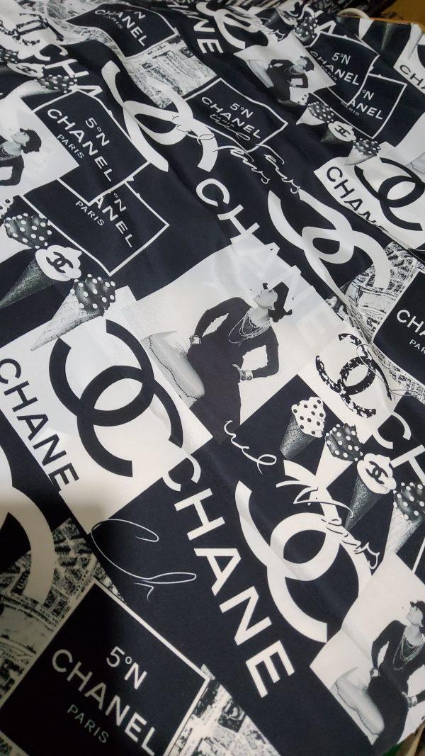 20210412 193425 scaled French Designer Silk Crepe satin matt fabric,limited quantity 2