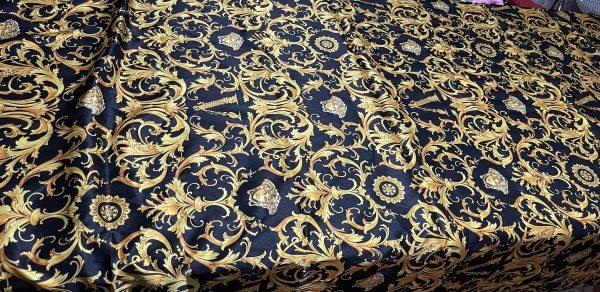 Versace Fabric Medusa Silk fabric/