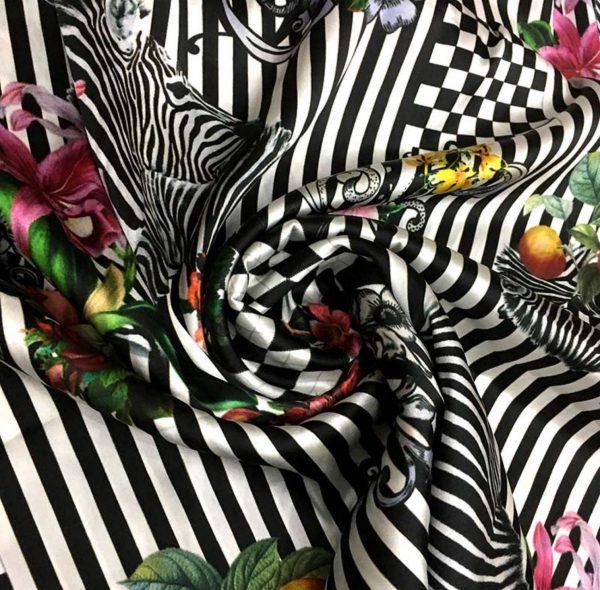 D.G. Mulberry Silk fabric