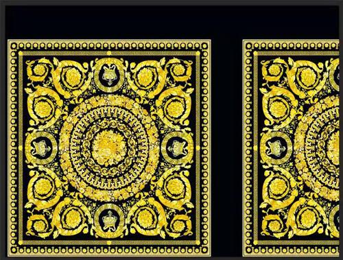 VERSACE Baroque Pattern Print