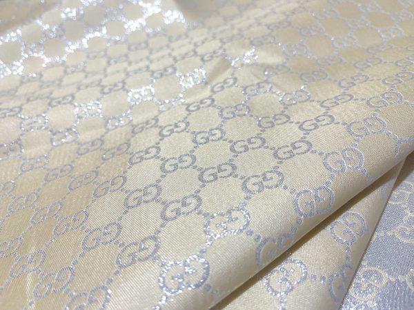 Gucci silver yarn Fabric