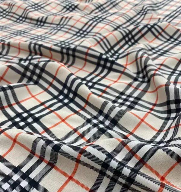 Burberry fabric silk