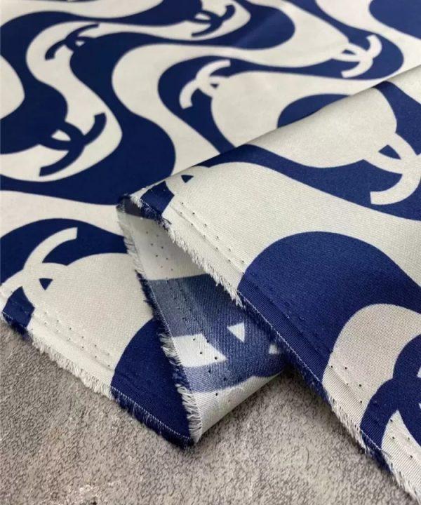 French silk twill fabric