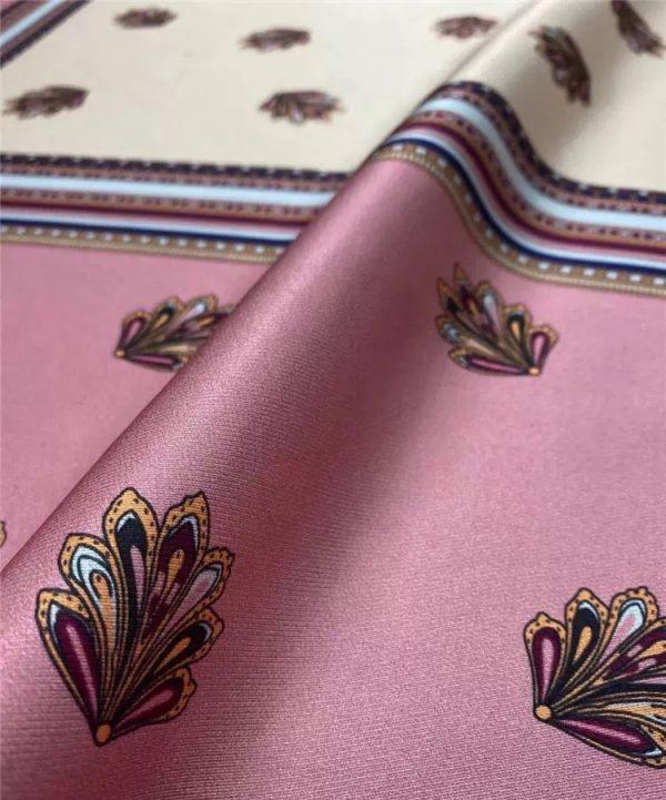 Prada Twill Silk fabric