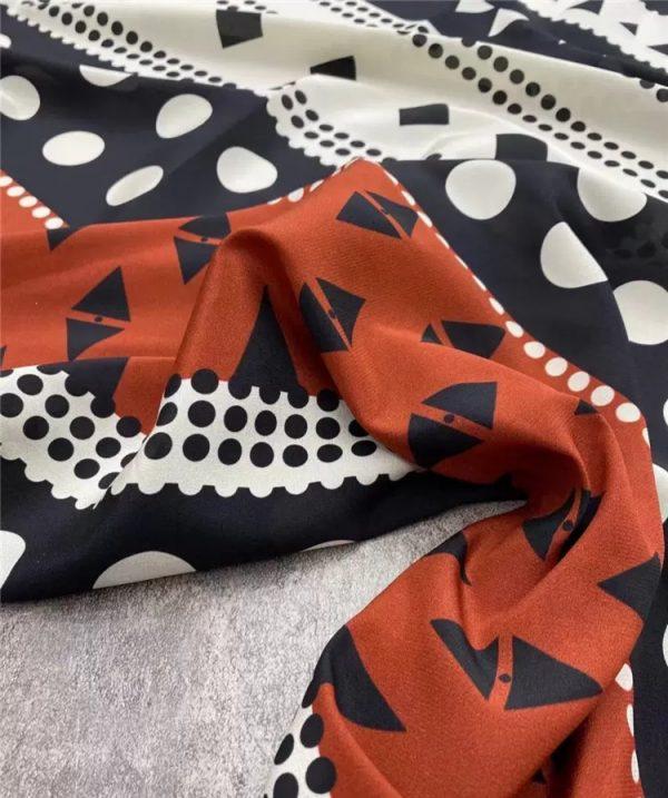 Valentino silk crepe de Chine fabric 2021 fashion week by preorder 1