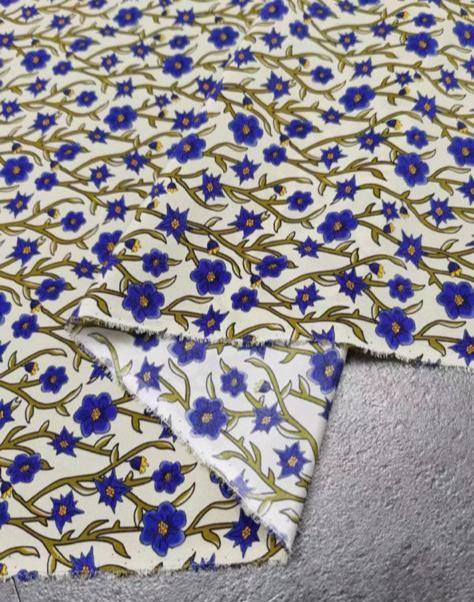 Prada silk fabric