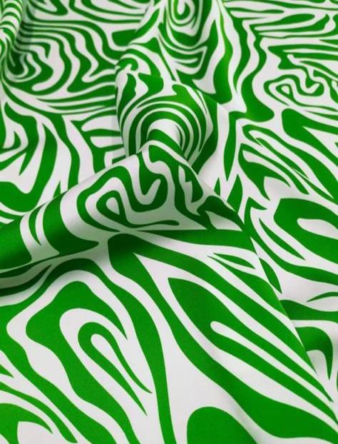 Italian Designer Silk Fabric