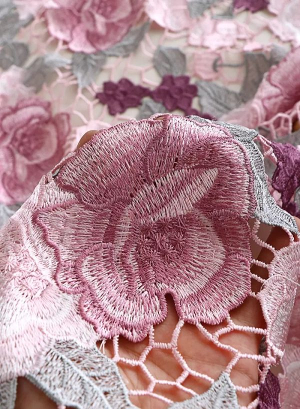 Zimmermann fabric reticulated embroidered