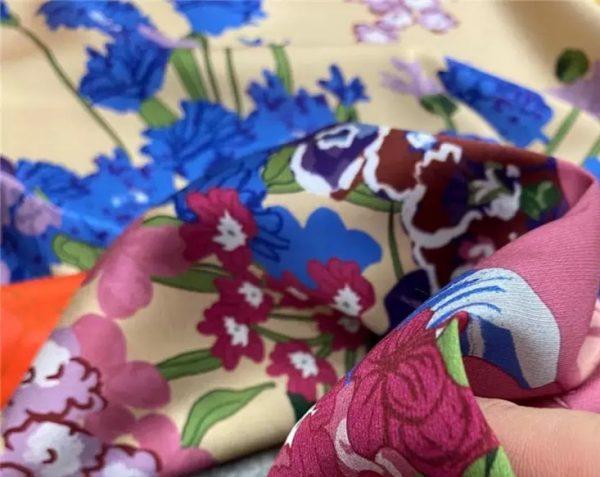 Gucci Resort silk fabric