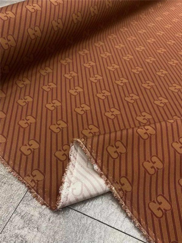 Gucci heavy silk fabric