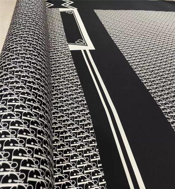 Dior limited addition fabric