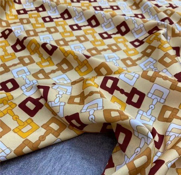 Gucci silk crepe de chine stretch fabric