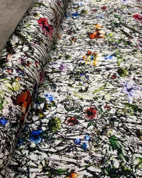 Dior Silk Twill stretch fabric