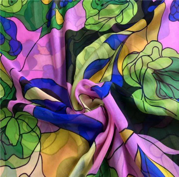 Moschino Silk Chiffon fabric