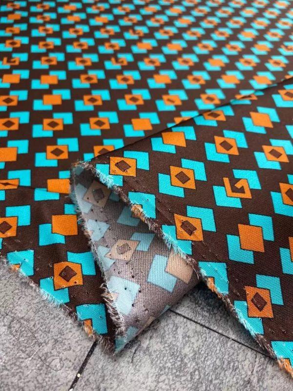 Gucci silk twill stretch fabric