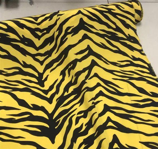 Roberto Cavalli silk crepe de chine fabric