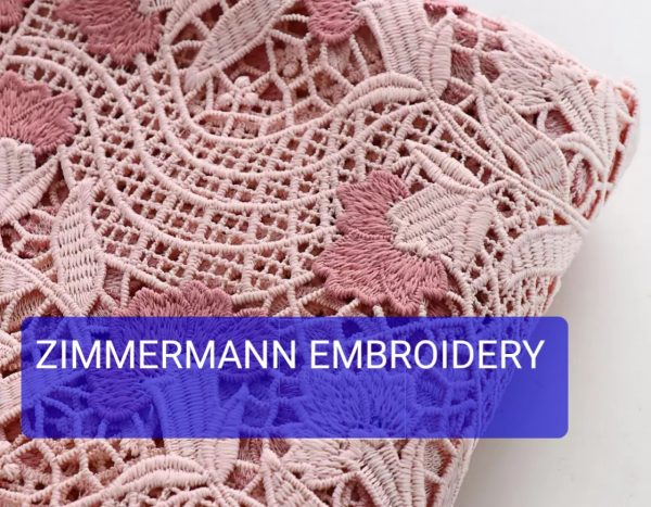 Zimmermann embroidery recheliue fabric 2021 collection 4